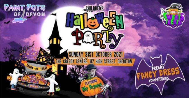 Childrens Halloween Activities and Pumpkin picking in Exeter