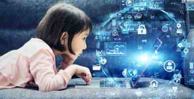 Niños en la era digital
