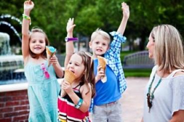 Ice cream for Amy Sweezey's kids!