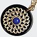 cobalt pendant