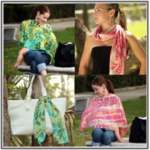 Pirose Nursing Cover/Scarf by Reno Rose