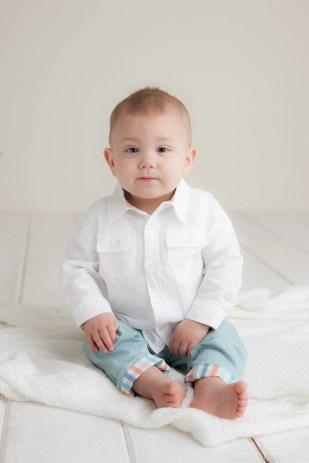 Birthday Baby | ONE Year Session | Hudson Studio Photography