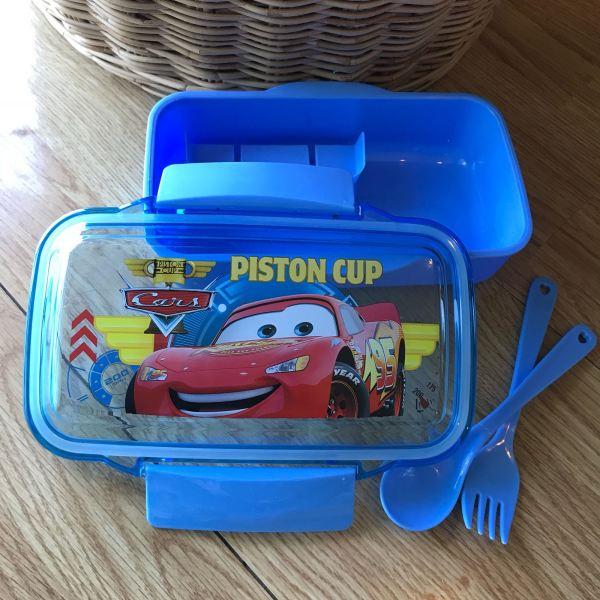 กล่องอาหาร Cars Lunch Box