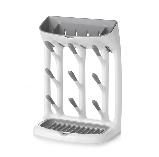 oxo tot bottle drying rack compact grey