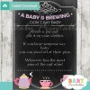 printable tea party theme Dont Say Baby Game pdf