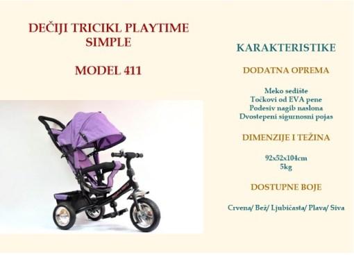 Tricikl Smart
