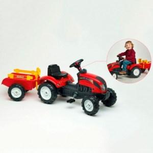 Traktor na pedale sa prikolicom Ranch Falk toys