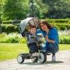 Tricikl QPlay 4u1 Comfort Sivi