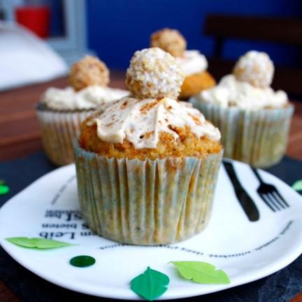 Möhrenmuffins // Carrot Muffins http://babyrockmyday.com/moehrenmuffins/
