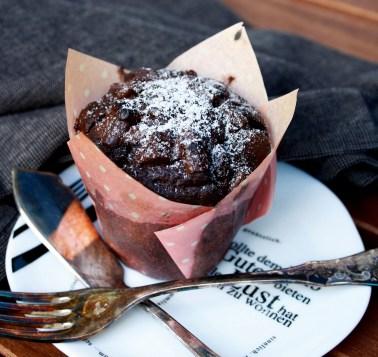 Schokoladen Muffin