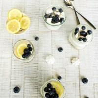 Buttermilch Zitronen Mousse