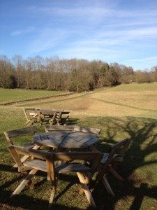 Picnic area, Greys Court