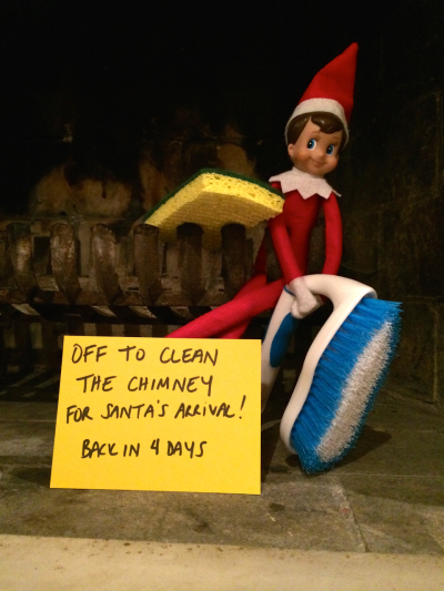 How To Make Your Elf On The Shelf Go Away For A Little While