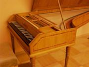 Ch.マーネ(1989年)作 フォルテピアノ ルイ・ドゥルケンモデル(1794年) 音域 FF-g3 430Hz