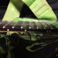プチリペア エレキギターのフレット すり合わせ未満!研磨しました。