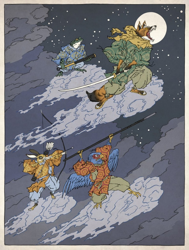 Fan Art: New Ukiyo-e Heroes! (Pokemon, Zelda & Star Fox)
