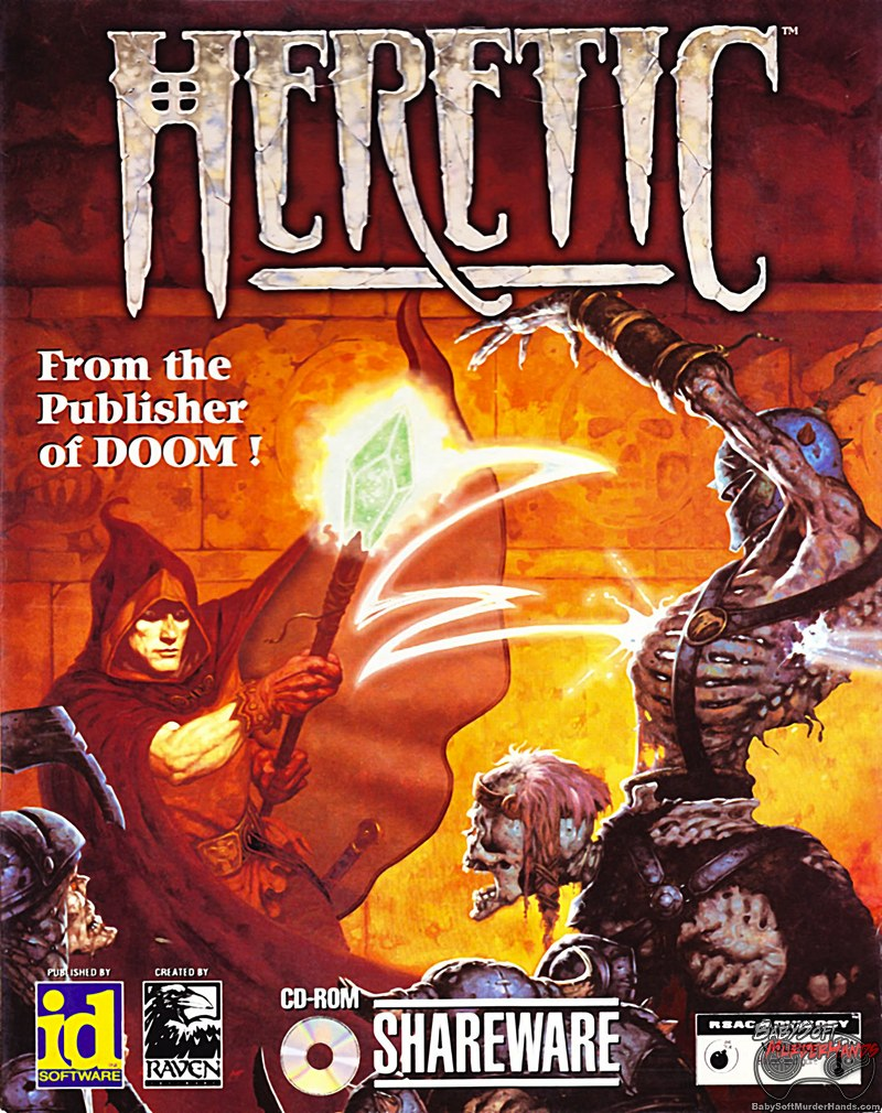 Cover Art: Heretic (PC)
