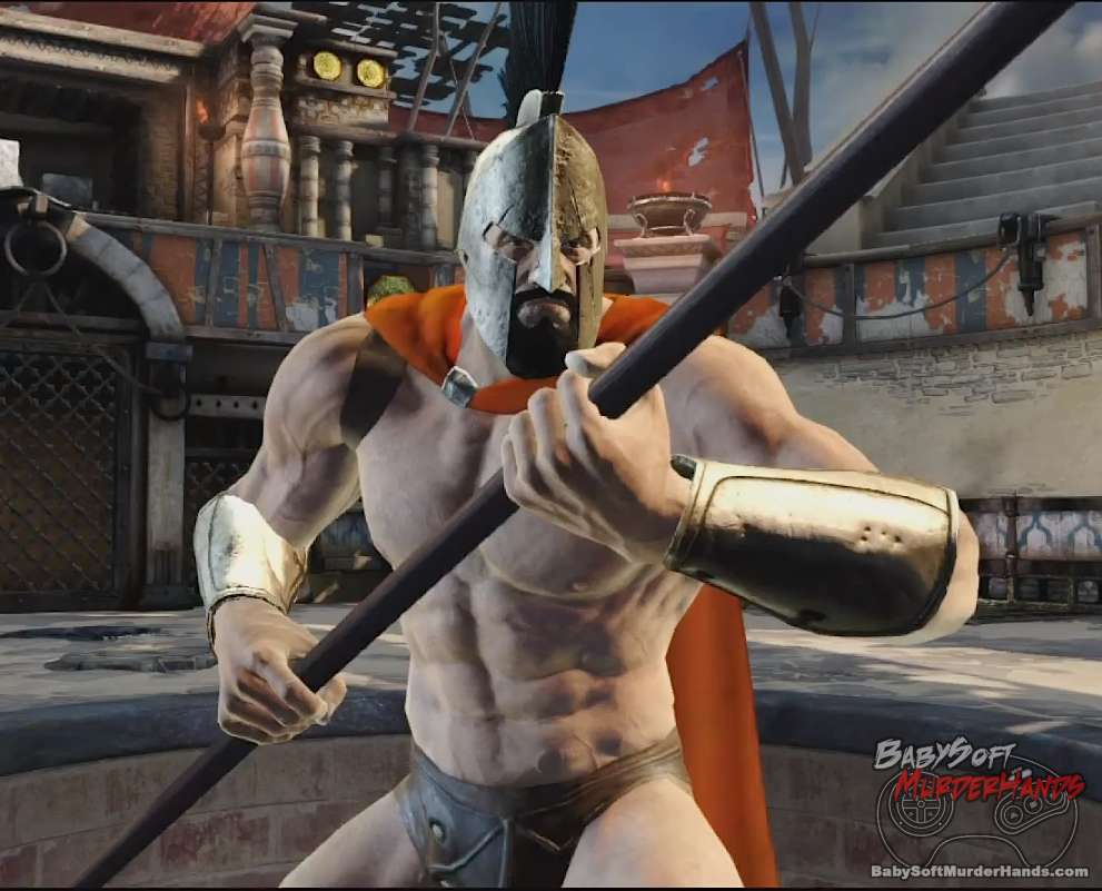 King Leonidas (300) gameplay in God of War: Ascension