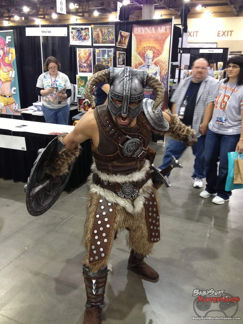 Skyrim Cosplay Phoenix Comicon 2013