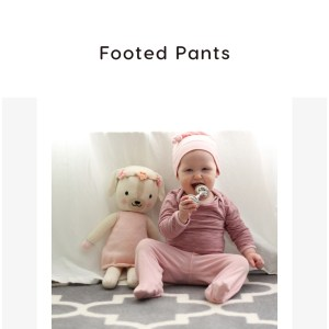 Footed Pants