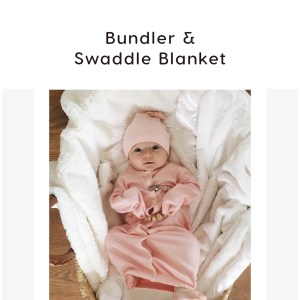 Bundler & Swaddle Blanket
