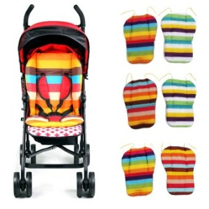 Amango Pram Rainbow Cushion Soft Thick Color Random