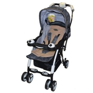 Apruva Folding Deluxe Baby Stroller with Reversible Handle