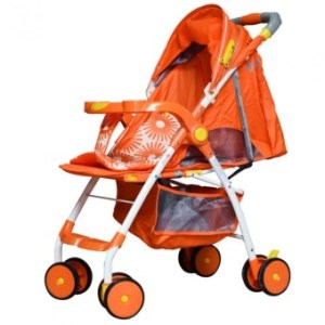 Baby 1st #308A Stroller with Rocking Feature (orange)