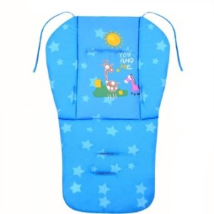 Baby Infant Stroller Seat Pushchair Cushion Cotton Mat Blue