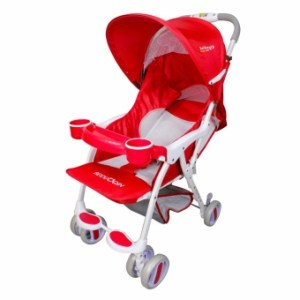 Baby Love 200 Lightweight Baby Stroller(red)