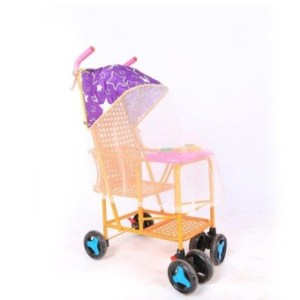 Baby Stroller Accessories Rattan Car Awning With Mosquito NetUvsunscreen - intl