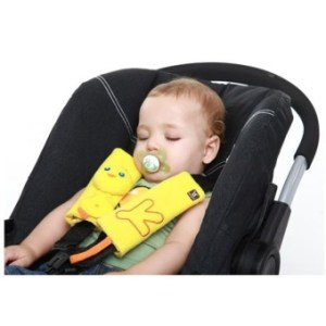 Baby Stroller Children Wear Seat Belts Wound Pad Protective SleeveStraps - Intl