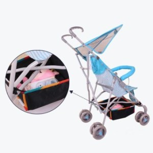 Baby Stroller Pram Bottom Basket Pushchair Buggy Shopping Storage Case Organizer Bag - intl