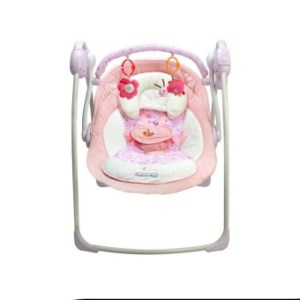 Cocotina Baby Cradle to Sleep Musical Rocking Chair Electric Swing Bouncer Crib Motion - intl