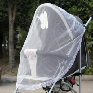 Cute Infants Baby Stroller Pushchair Buggy Mosquito InsectProtector Net Mesh - intl