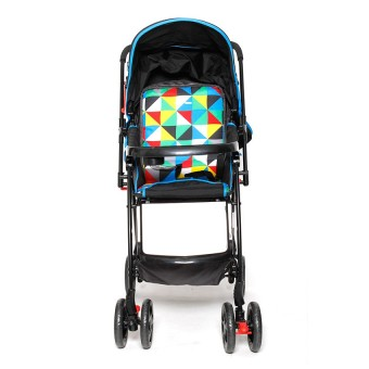 Happy Dino High Impact Stroller (Black)