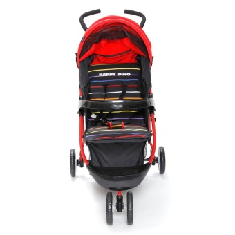 Happy Dino Low Impact Jogger (Red)