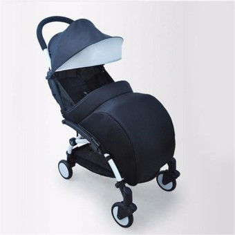 HengSong Universal Warm Baby Stroller Foot Muff Buggy PushchairPram Foot Cover (Black) - intl