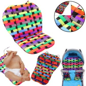 Oxford Baby Stroller Pad Pram Pushchair Liner Cover Car Seat ChairCushion - intl