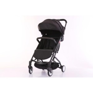 Baby Stroller Compact Folding Stroller lightweight Baby Pram Easy to Take City tour(BLACK ONLY)