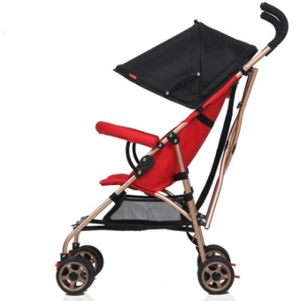 (Imported)BEST-EYE Lightweight Premium Babycare Carriage Foldable Multifunctional Infant Stroller High Seat Mat - intl