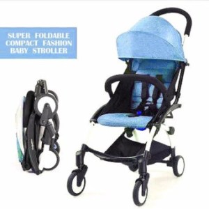New 2017 best store baby shop foldable portable baby stroller(Blue)