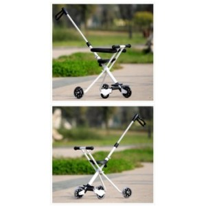 Portable folding tricycle baby strollers baby joggers - intl