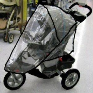 Sasha Kiddie JE01R Jeep Liberty Sport-Limited Single Stroller Rain and Wind Cover - Stroller Not Included