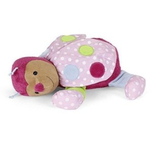Sterntaler Katharina Plush Toy With Heart Sounds- Pink