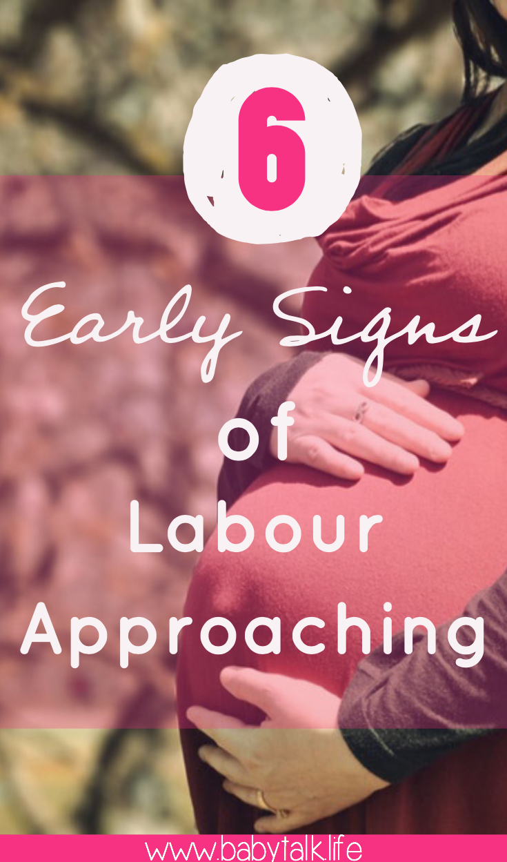 signs of labour approaching