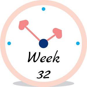 Zwangerschap week 32