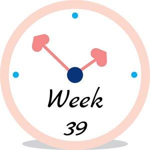 Zwangerschap week 39