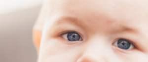 zicht van een baby