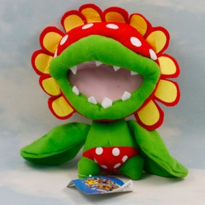 mario plush toy piranha